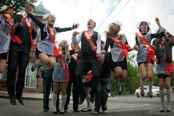 Последний звонок в Новосибирске - №12