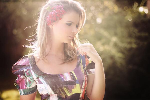 Красота и женственность в портретах Анны Теодоры - №20