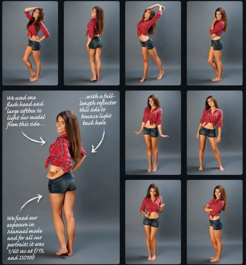 Идеи для женских портретов - №1