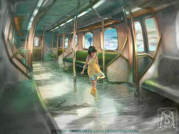 Densha trange travel by ylphielmetallium