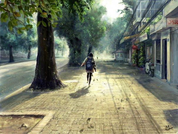 Deserted street by monsterrrrous