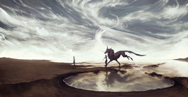 Dream on distant shores by GunnerRomantic
