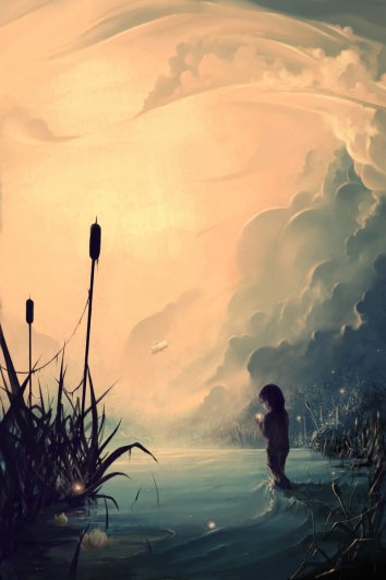 Evanescent sunrise by AquaSixio