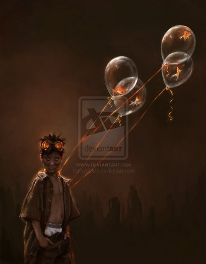 Koi boy by cypherx