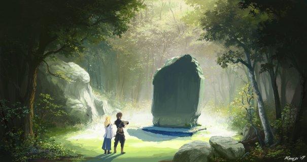 Monolith on Dol Aman by Kyomu