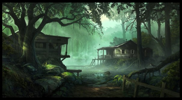 Swamp fever byandreewallin