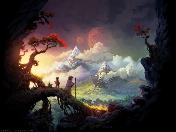 Welcome to the Wormworld by daniellieske