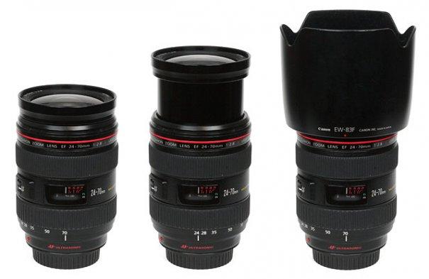 Полный обзор объектива Canon EF 24-70mm f/2.8 USM L - №2