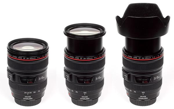 Полный обзор объектива Canon EF 24-105mm f/4 USM L IS - №2