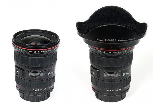 Полный обзор объектива Canon EF 17-40mm f/4 USM L - №2