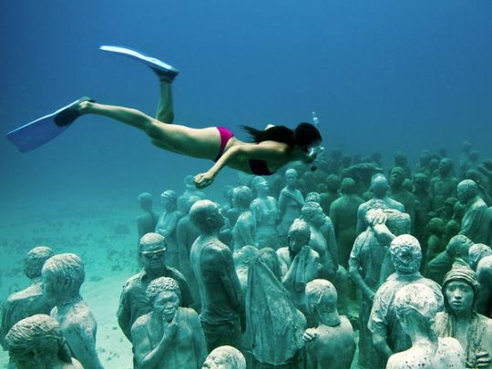 Канкун, Мексика (фото:Jason deCaires Taylor)