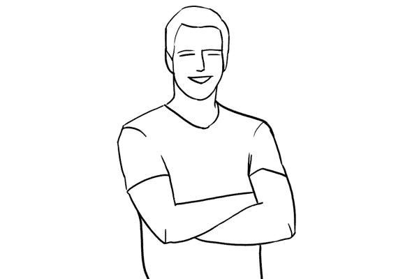 Работа над позами моделей: 21 пример поз для мужских портретов - №1