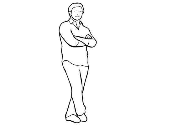 Работа над позами моделей: 21 пример поз для мужских портретов - №2