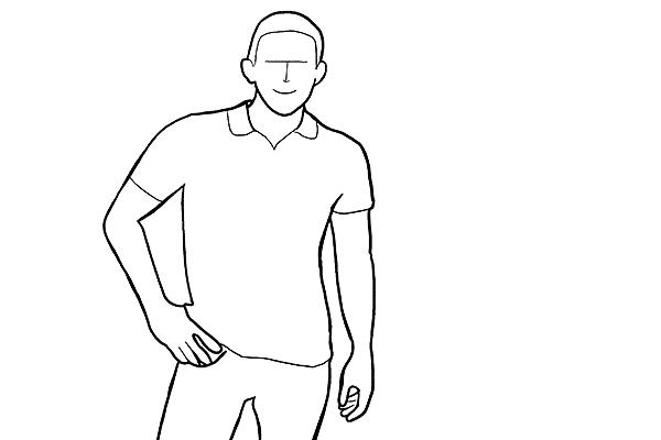Работа над позами моделей: 21 пример поз для мужских портретов - №3