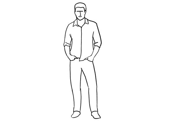 Работа над позами моделей: 21 пример поз для мужских портретов - №4