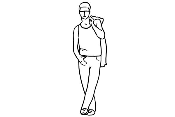 Работа над позами моделей: 21 пример поз для мужских портретов - №5