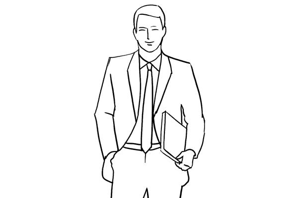 Работа над позами моделей: 21 пример поз для мужских портретов - №9