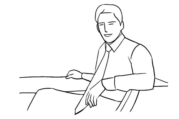 Работа над позами моделей: 21 пример поз для мужских портретов - №13