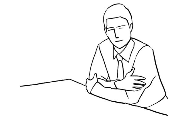 Работа над позами моделей: 21 пример поз для мужских портретов - №14