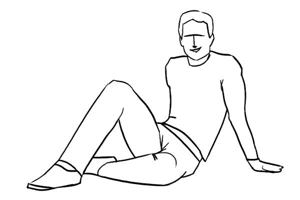 Работа над позами моделей: 21 пример поз для мужских портретов - №18