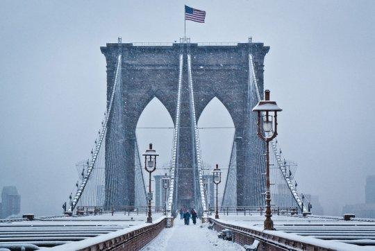 Бруклинский мост, Нью-Йорк (фото:Wayne Bennett)