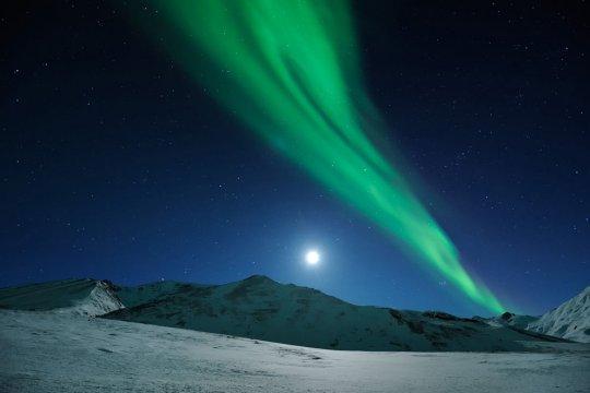 Северное сеяние,штат Аляска (фото:Ben Hattenbach)