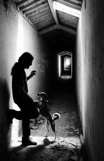 Черно-белые автопортреты Массимилиано Сарно - №1
