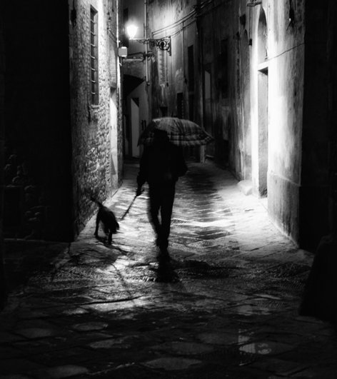 Черно-белые автопортреты Массимилиано Сарно - №10
