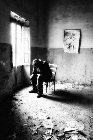 Черно-белые автопортреты Массимилиано Сарно - №13