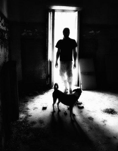 Черно-белые автопортреты Массимилиано Сарно - №15