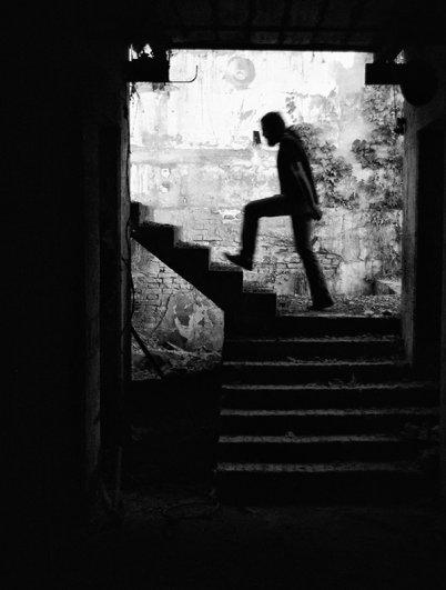 Черно-белые автопортреты Массимилиано Сарно - №18