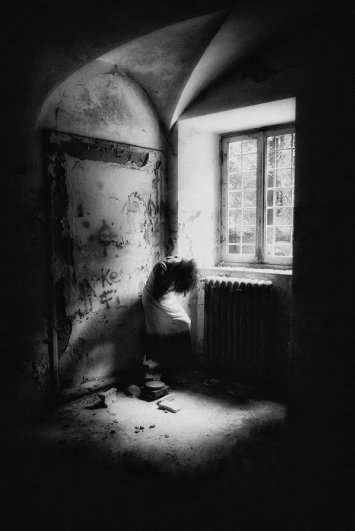 Черно-белые автопортреты Массимилиано Сарно - №20