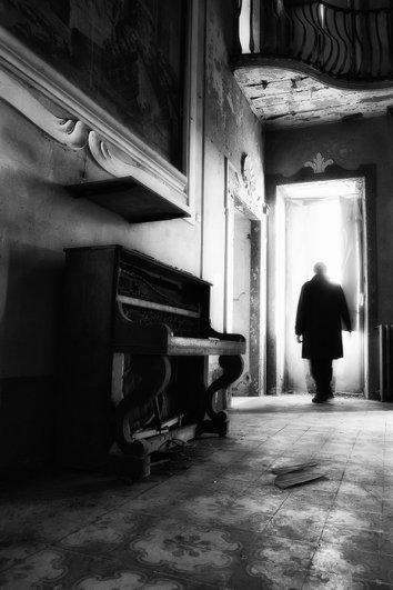 Черно-белые автопортреты Массимилиано Сарно - №23