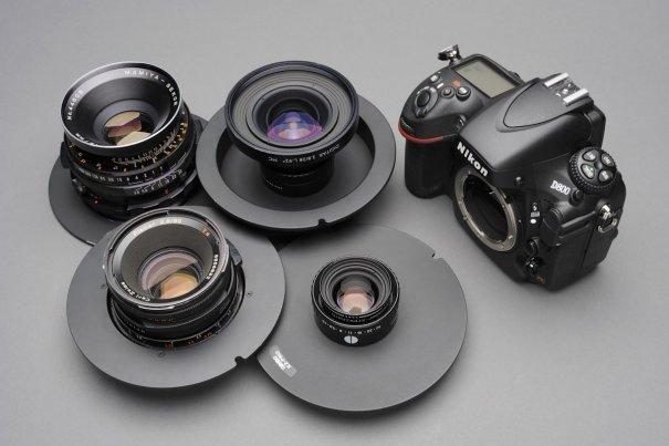 Использование Nikon D800 с оптикой среднего формата (переходник Cambo X2 Pro) - №1
