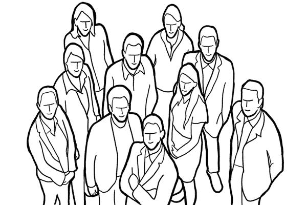 Работа над позами моделей: 21 пример поз для групповых снимков - №3
