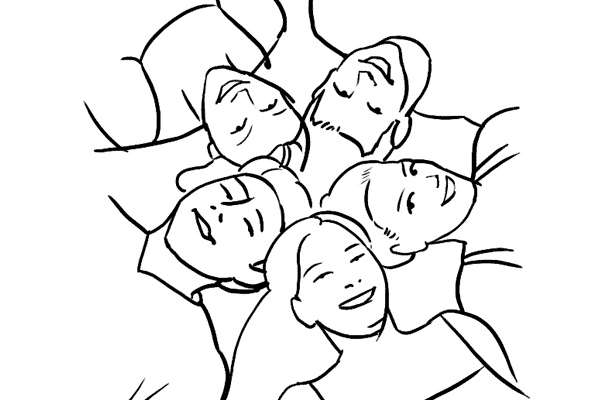 Работа над позами моделей: 21 пример поз для групповых снимков - №7