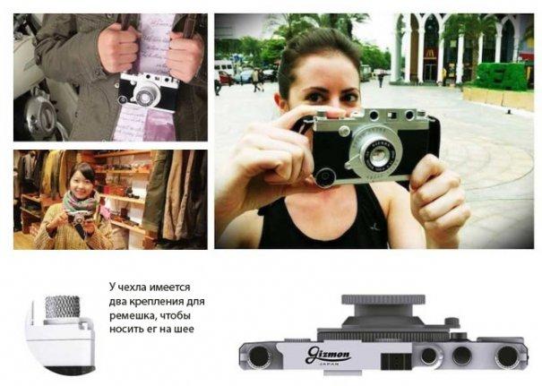 Gizmon Ica: чехол для iPhone вдохновленный Leica - №2