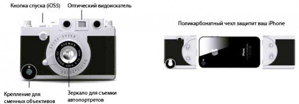 Gizmon Ica: чехол для iPhone вдохновленный Leica - №3