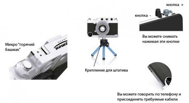 Gizmon Ica: чехол для iPhone вдохновленный Leica - №4