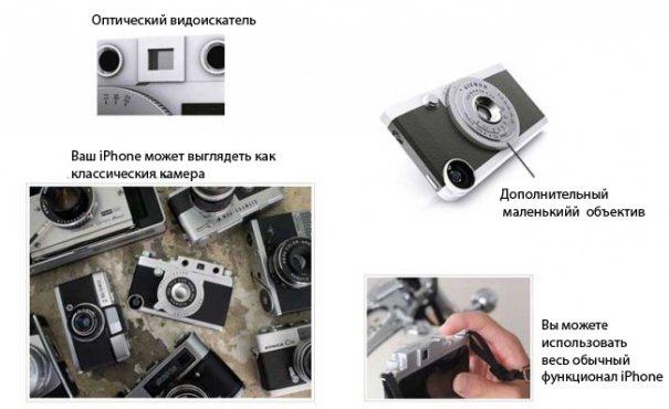 Gizmon Ica: чехол для iPhone вдохновленный Leica - №5
