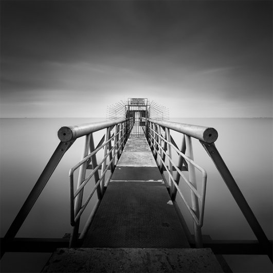 Уилл Ли: черно-белые фотографии с долгой экспозицией - №5