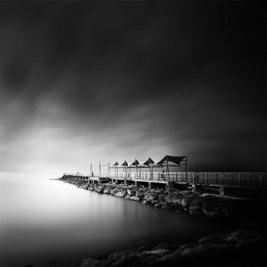 Уилл Ли: черно-белые фотографии с долгой экспозицией - №8