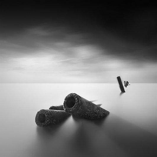 Уилл Ли: черно-белые фотографии с долгой экспозицией - №11