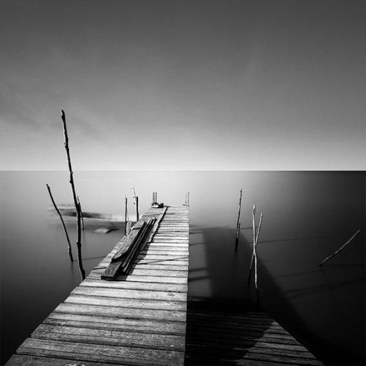 Уилл Ли: черно-белые фотографии с долгой экспозицией - №13