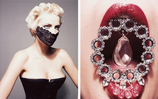 красота моды и стиля в коллаже
