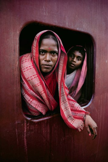 Удивительные портреты Стива МакКарри (Steve McCurry) - №7