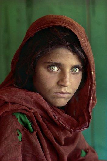 Удивительные портреты Стива МакКарри (Steve McCurry) - №1