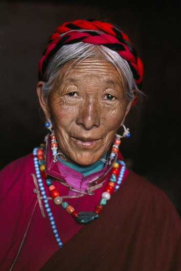 Удивительные портреты Стива МакКарри (Steve McCurry) - №18