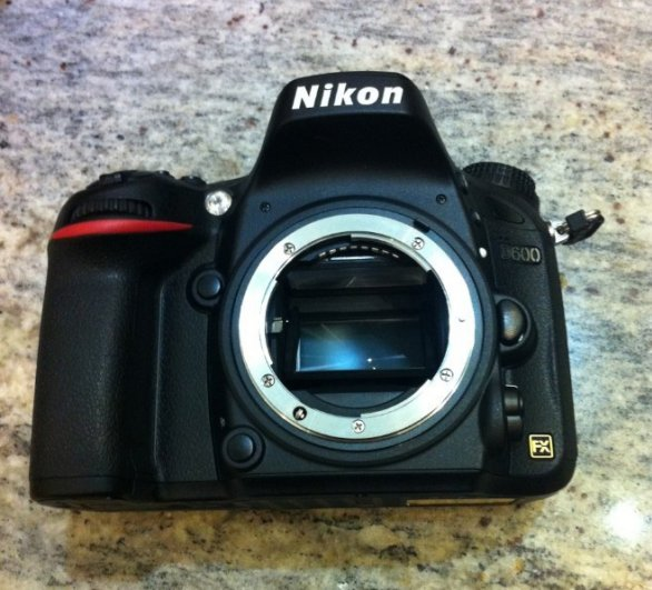 Первая утечка фотографий Nikon D600 - №1
