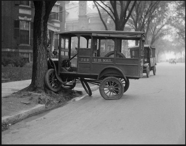 Автомобильные аварии 30-х годов в Бостоне - №1